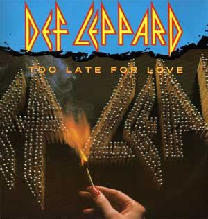 Too Late for Love (song) - Wikipedia