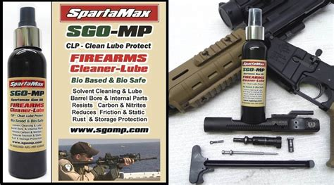 SpartaMax Products - SGO-MP M4-AR15-DEMO-Cleaning-Videos