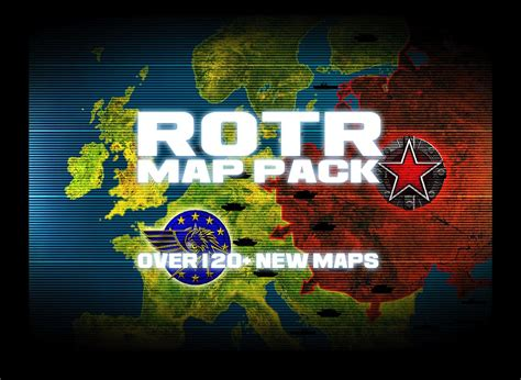 Rise of the Reds - Map Pack 1